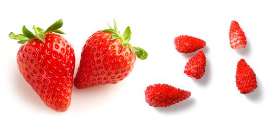 La fresa y el fresón: dos cosas distintas
