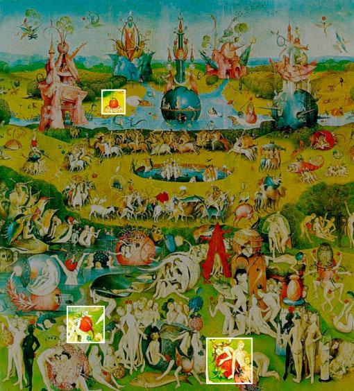 El Jardin De Las Delicias Significado Of Las Fresas Y El Jard N De Las Delicias De La Huerta De