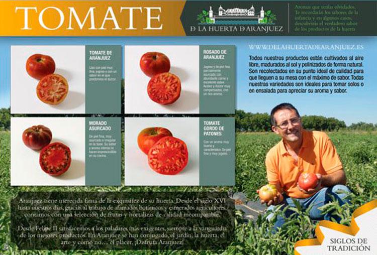 Cartel tomate Makro